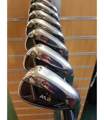 Taylormade M2 irons 4-pw / reg steel / standard //
