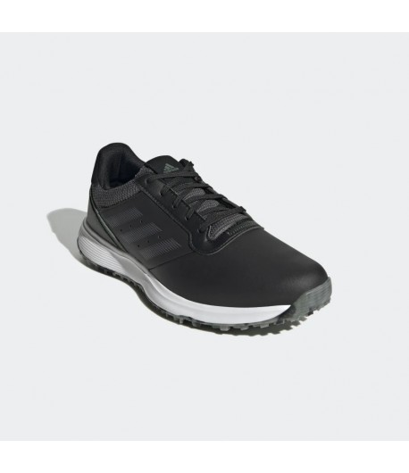 Adidas S2G Spikeless Leather Golf Shoes   Black